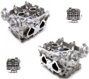Genuine Subaru New Large Port Cylinder Heads Impreza Spec C JDM STi AVCS EJ20 2.1 2.3